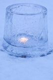 Ice lanterns Stock Images