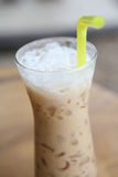 Ice latte coffe Royalty Free Stock Photo