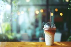 Ice latte coffee Royalty Free Stock Photography