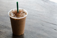 Ice latte coffee Stock Photography