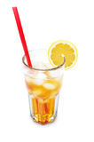 Ice lemon tea Stock Image
