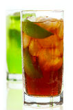 Ice lemon tea Royalty Free Stock Image