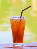 Ice lemon tea Stock Photos