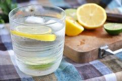 Ice lemonade Stock Photo