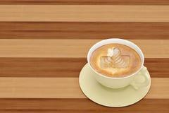 Ice like icon on coffee.3D illustration. Ice like icon on coffee. 3D illustration Stock Photography
