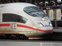 ICE locomotive. Cologne, Germany 2014 Royalty Free Stock Photos