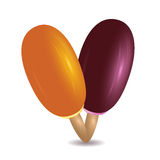 Ice lolly Royalty Free Stock Photo