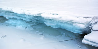 Ice lumps Royalty Free Stock Photography