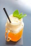 Ice mango tea Royalty Free Stock Image