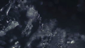 Ice Melting in Time Lapse stock footage