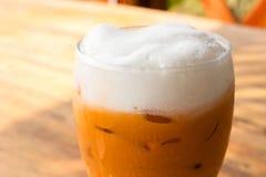 Ice milk tea. Stock Photos