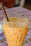 Ice  milk tea Royalty Free Stock Images