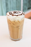Ice mocca coffee. Stock Photos