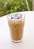 Ice mocca coffee. Royalty Free Stock Image