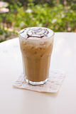 Ice mocca coffee. Royalty Free Stock Photo