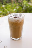Ice mocca coffee. Royalty Free Stock Photos