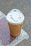 Ice mocca coffee Royalty Free Stock Image