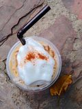 Ice Mocca with whip cream Stock Photography