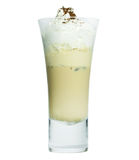 Ice Mocca with whip cream Stock Photos