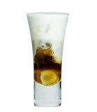 Ice Mocca with whip cream Royalty Free Stock Image