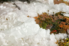 Ice mound Royalty Free Stock Photos