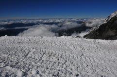 Ice in mountain Stock Photo