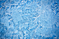 Ice natural background Stock Image