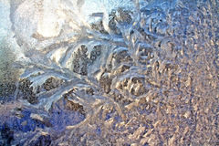 Ice On Window Stock Images