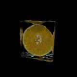 Ice orange Stock Photography