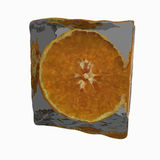 Ice orange Royalty Free Stock Photos