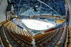 Ice Palace KRK Uralets Royalty Free Stock Photo