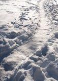 Ice path Royalty Free Stock Image