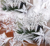 Ice patter Royalty Free Stock Photos