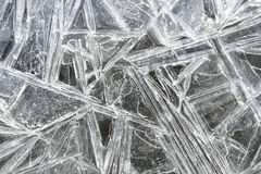 Ice pattern Stock Photo