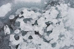 Ice pattern Royalty Free Stock Photo