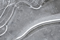 Ice pattern Royalty Free Stock Photography