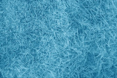Ice pattern. Texture of ice crystals Stock Photography