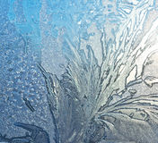 Ice pattern Stock Image