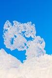 Ice pattern Royalty Free Stock Image
