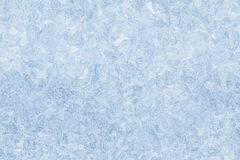 Ice pattern on window seamless background Stock Photos