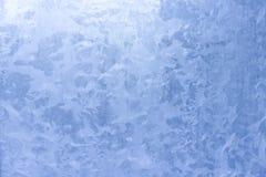 Ice pattern on window Stock Photo