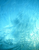 Ice patterned background stock images