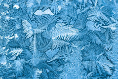 Ice patterns Royalty Free Stock Images