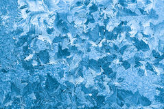 Ice patterns Stock Photo