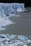 Ice and Perito Moreno Royalty Free Stock Image