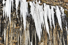 Ice Pinnacles Stock Image