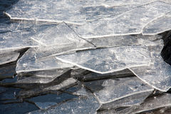 Ice plates Stock Photography