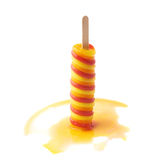 Ice pop popsicle on a stick isolated Royalty Free Stock Photo