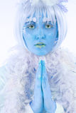 Ice Princess Royalty Free Stock Photos