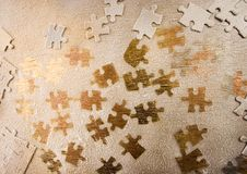 Ice Puzzle Royalty Free Stock Images